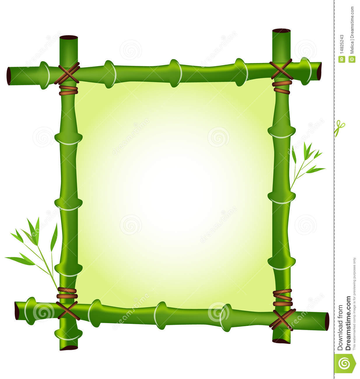bamboo frame stock vector image of culture  organic free leaf vector art free leaf vector icon