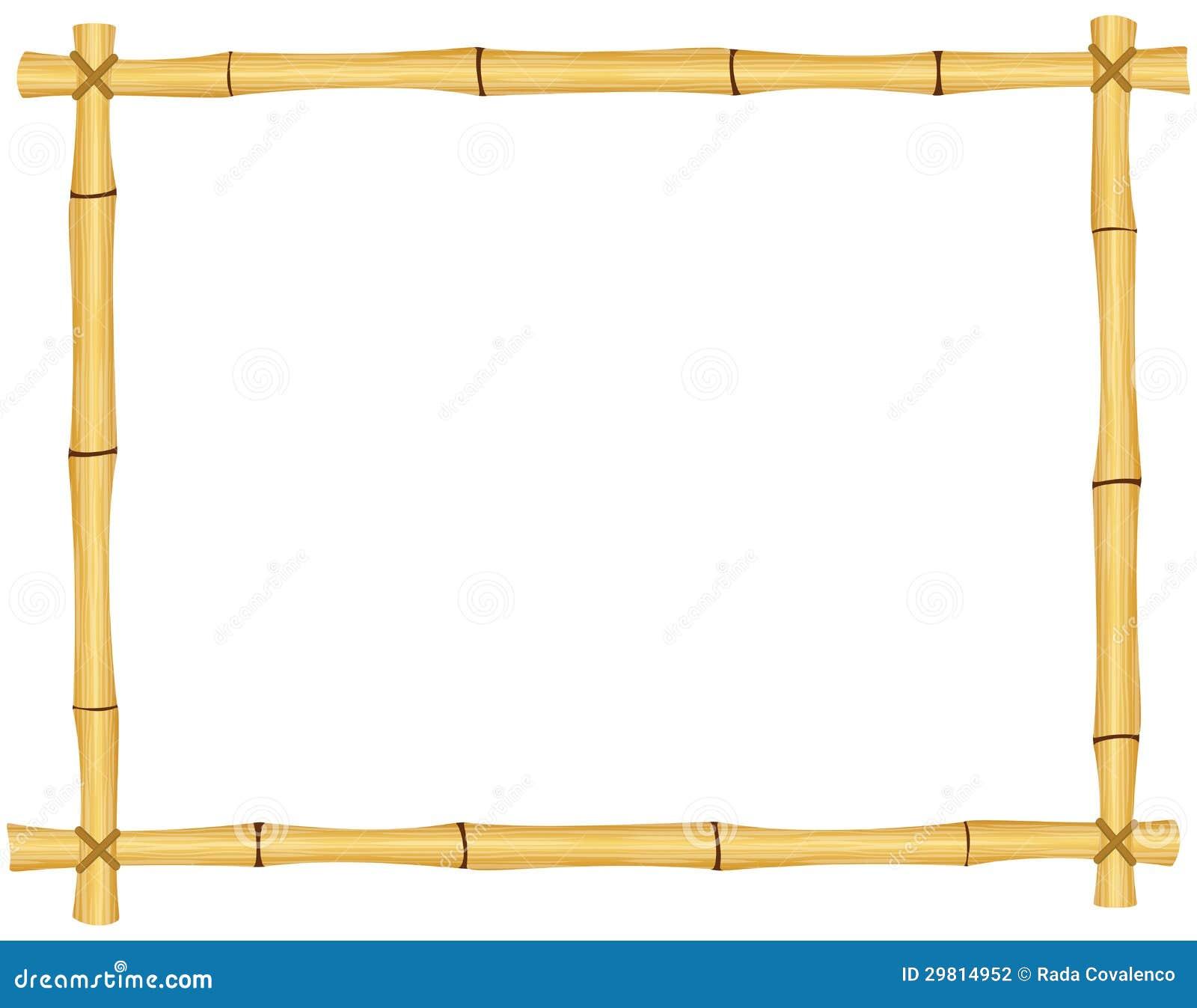 Bamboo Frame Stock Photography Image 29814952