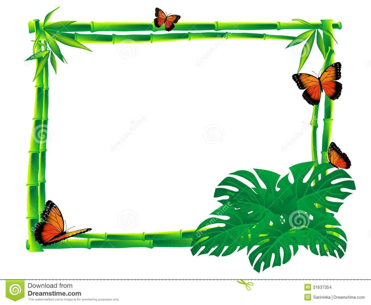 yellow butterfly clipart