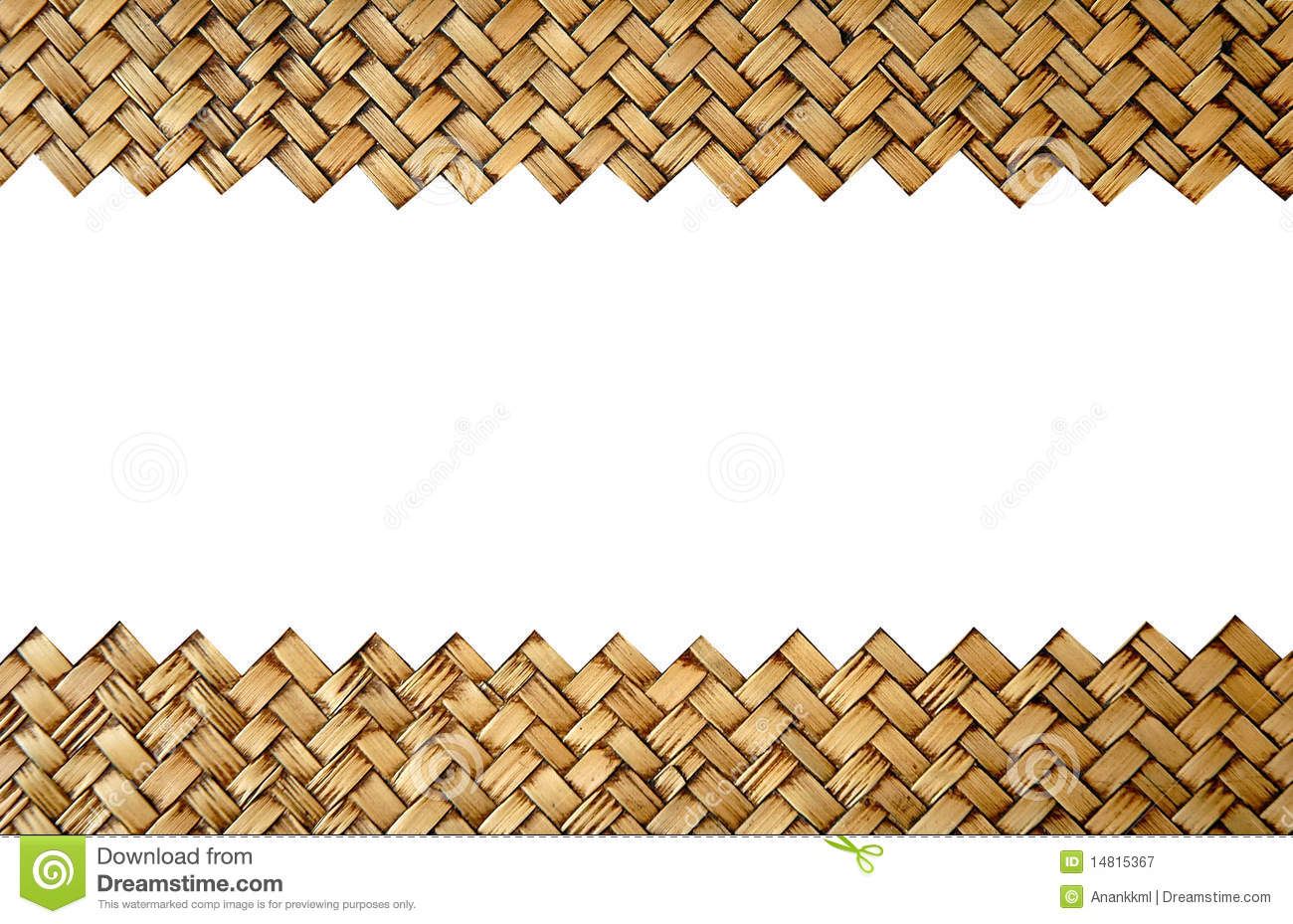 Bamboo handicraft royalty free stock photography image for Waste material handicraft