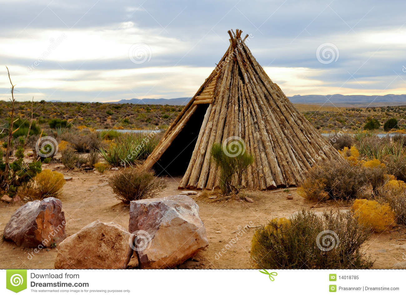 Bamboo House Royalty Free Stock Photo Image 14018785