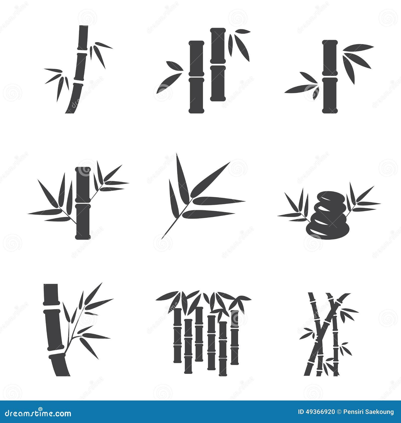 Bamboo Icon Stock Vector Image 49366920