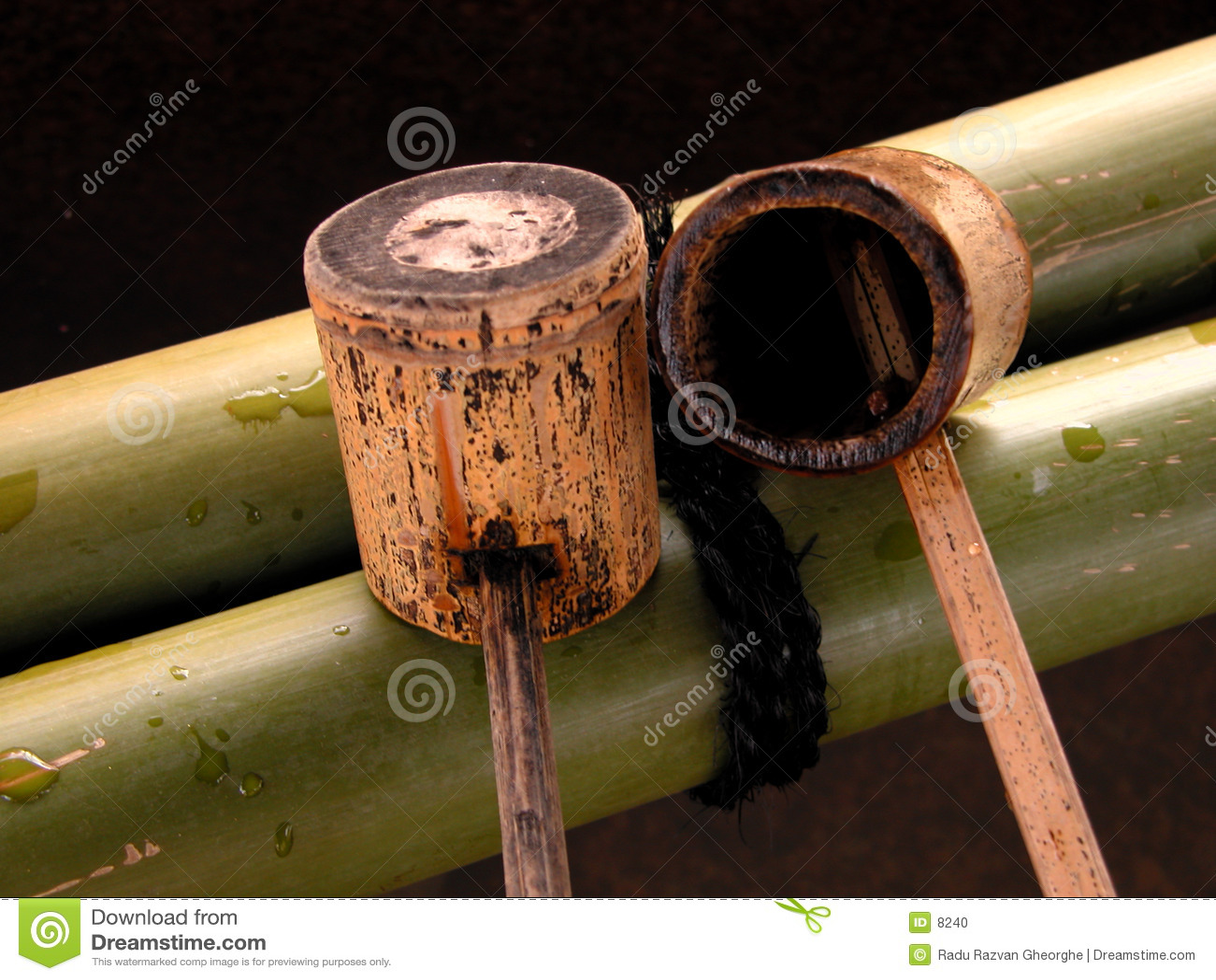 Bamboo ladle