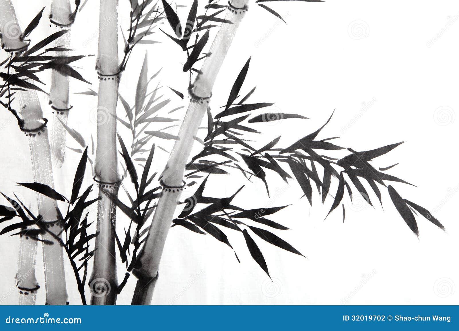 Bamboo Leaf Stock Photography Image 32019702