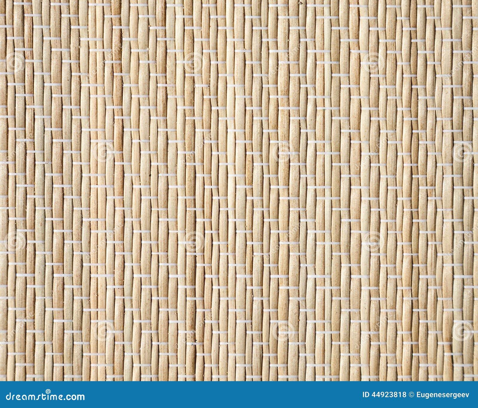 Bamboo mat, closeup detailed background texture