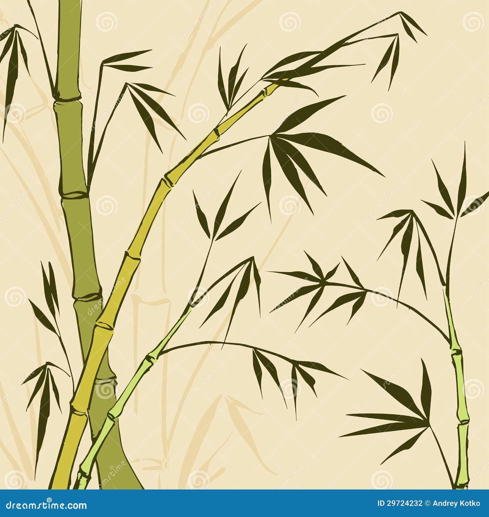 bamboo drawing - photo #12