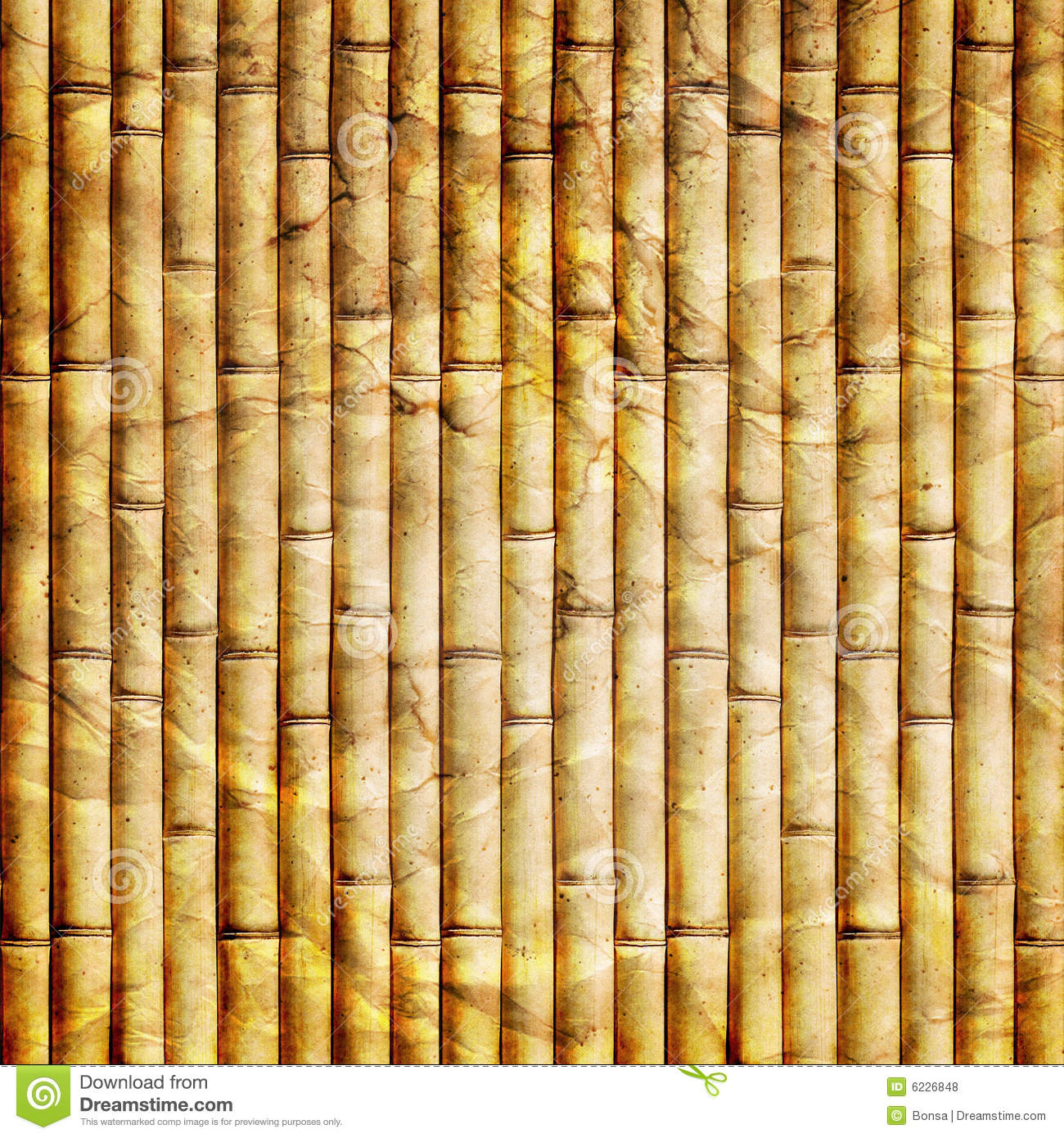 Bamboo Paper Stock Illustration Illustration Of Natural