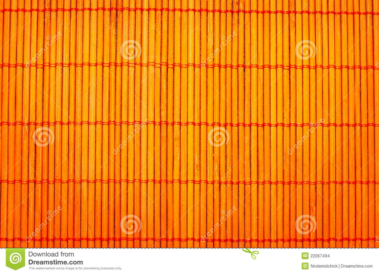 Bamboo Place Mat For Sushi Stock Images Image 22067494