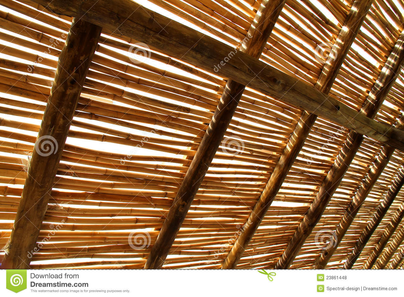Bamboo Roof Royalty Free Stock Photos Image 23861448