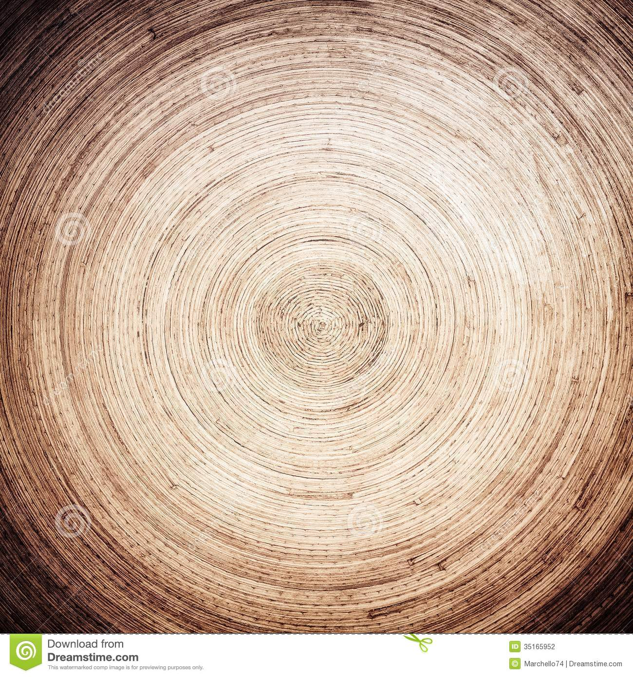 Bamboo Round Pattern Stock Photography Image 35165952