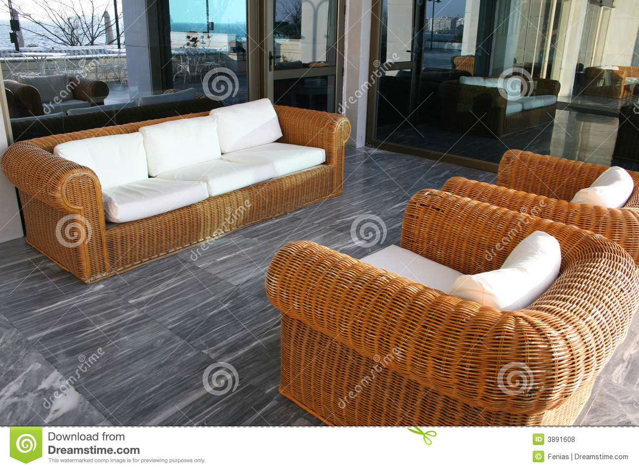 Uncategorized Bamboo Couch bamboo sofa stock photo image of floor outside 3891608 royalty free download sofa