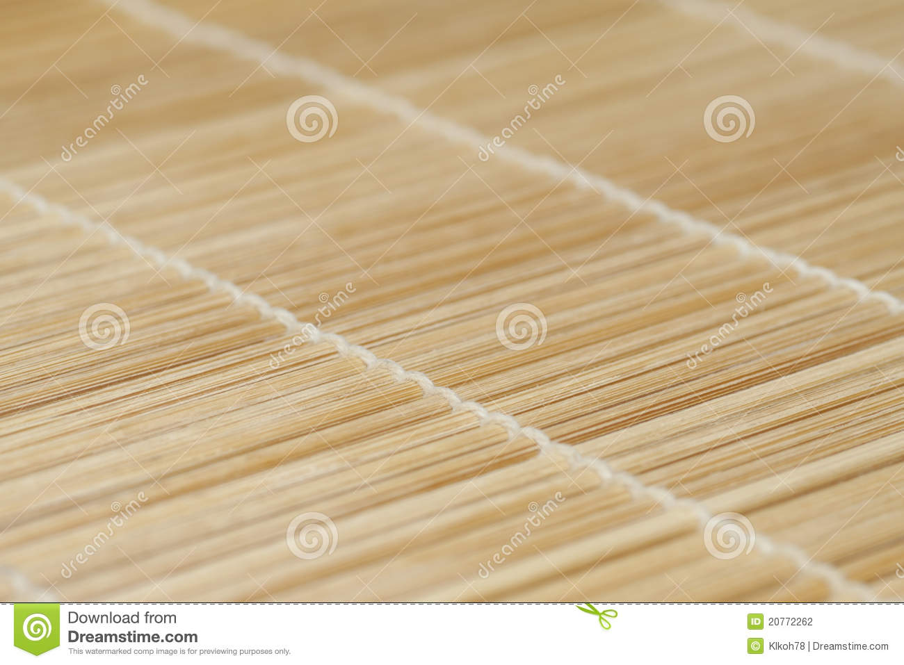 Bamboo Sticks Tied With Strings Stock Photography Image