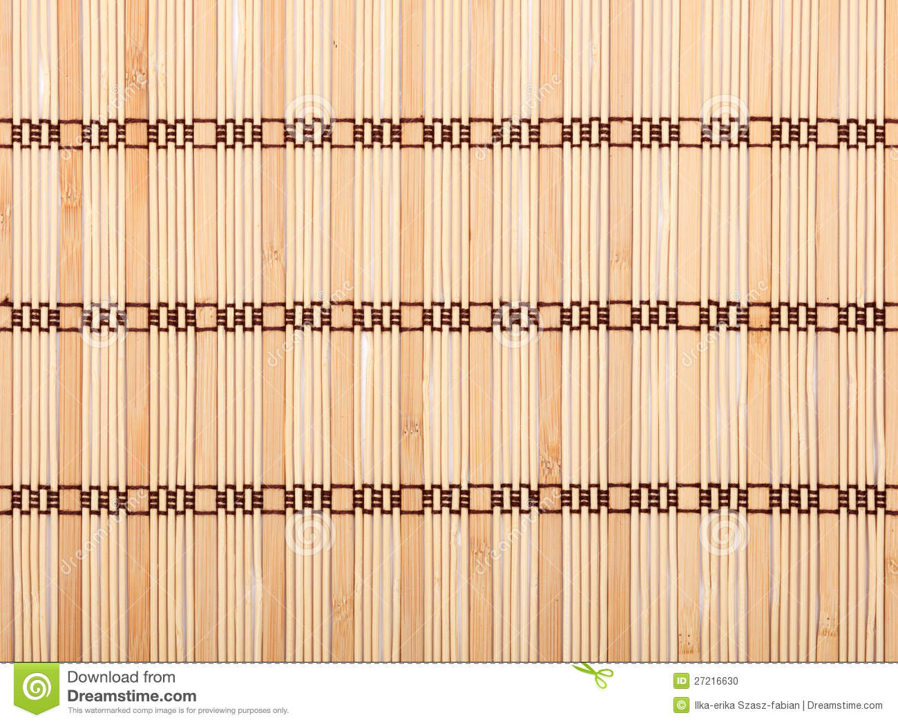 Genial Bamboo Tablecloth Texture Stock Photo