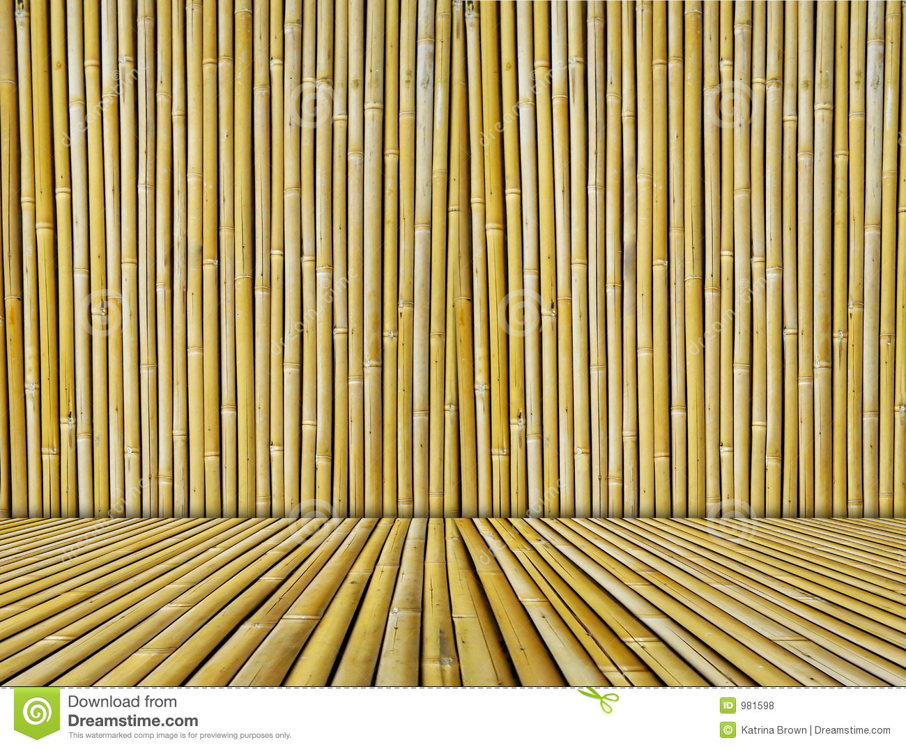 Bamboo Textured Background Royalty Free Stock Photos - Image: 981598