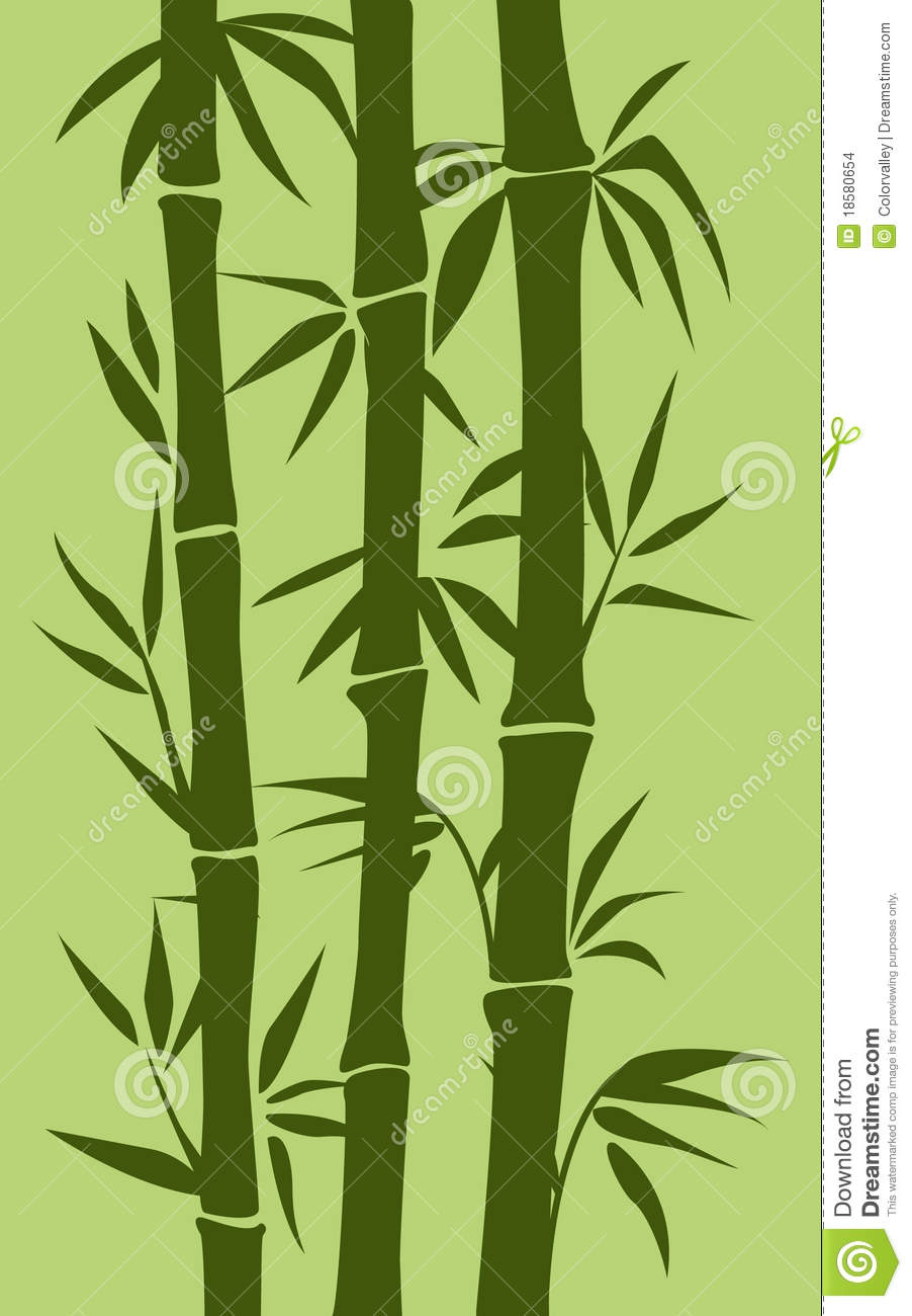 Bamboo Tree Illustration Stock Vector Illustration Of