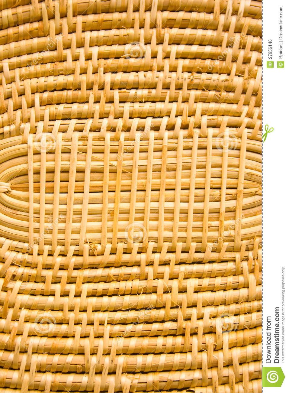 Bamboo is used for weaving royalty free stock image for Bamboo weaving tutorial