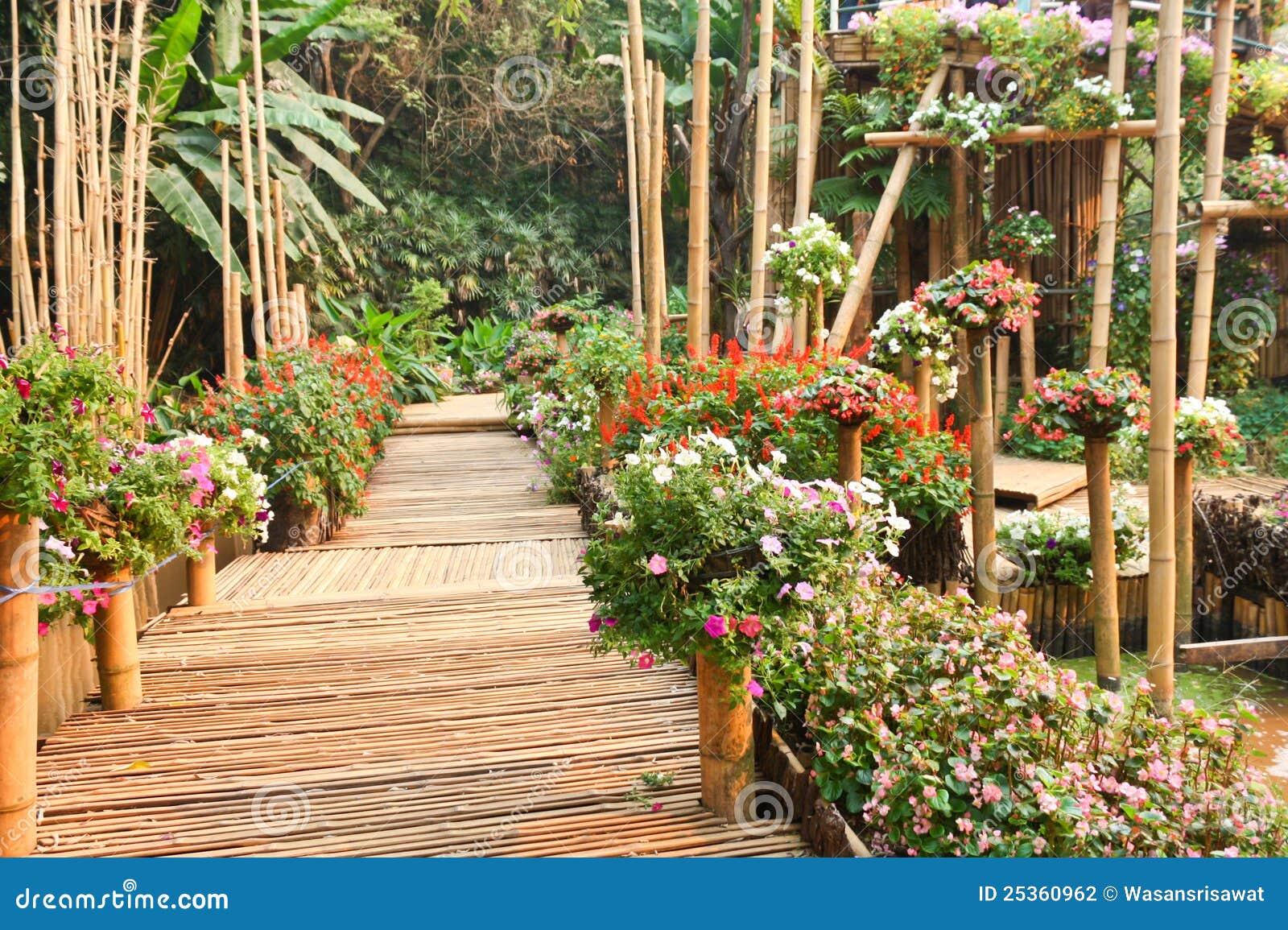 Bamboo Walkway Stock Photography Image 25360962