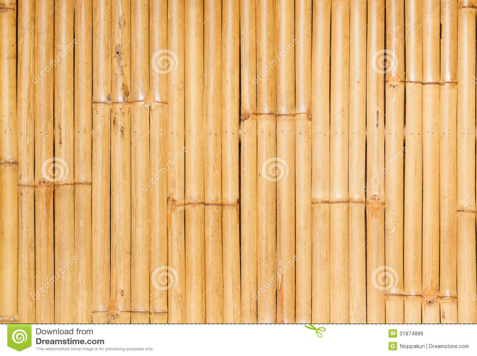 Bamboo wall background stock photo. Image of decoration - 31874886