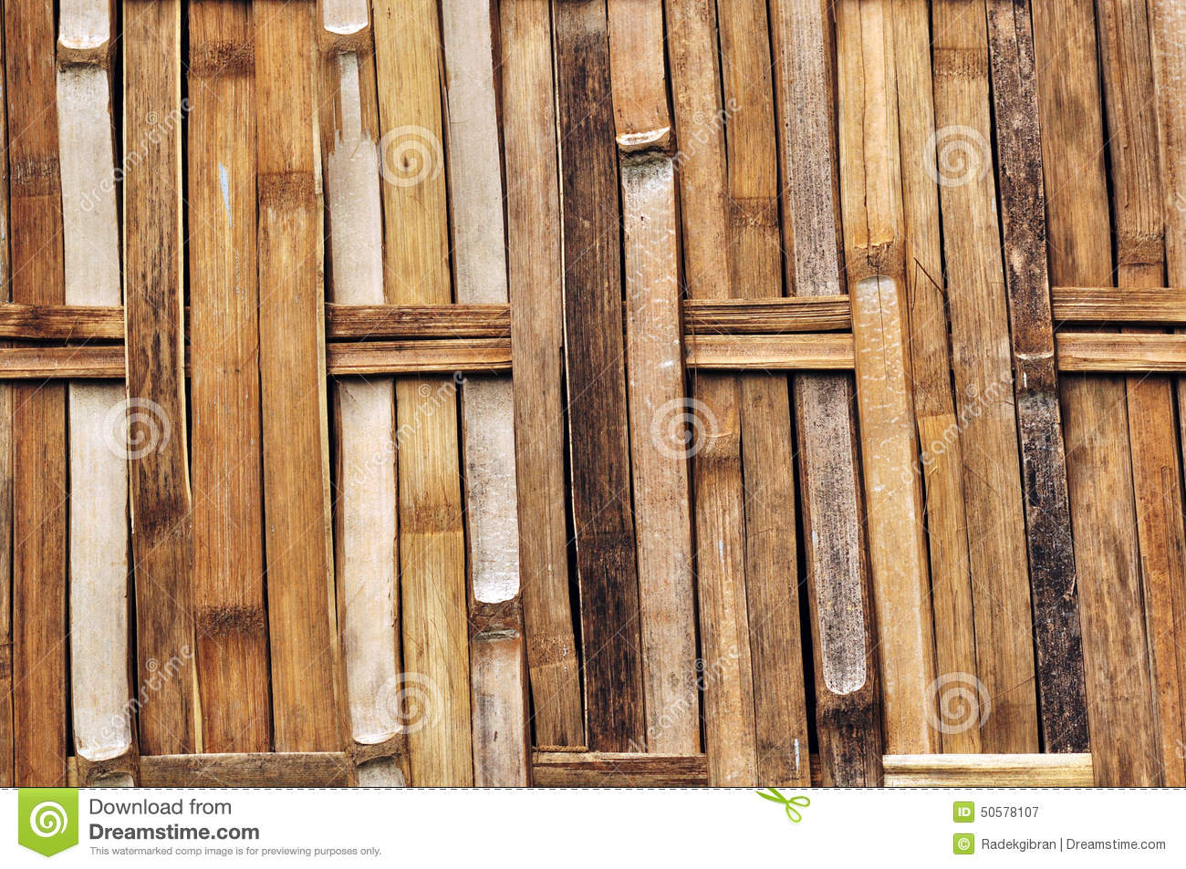 Bamboo Walls Texture Woven Bamboo Wall Textures And