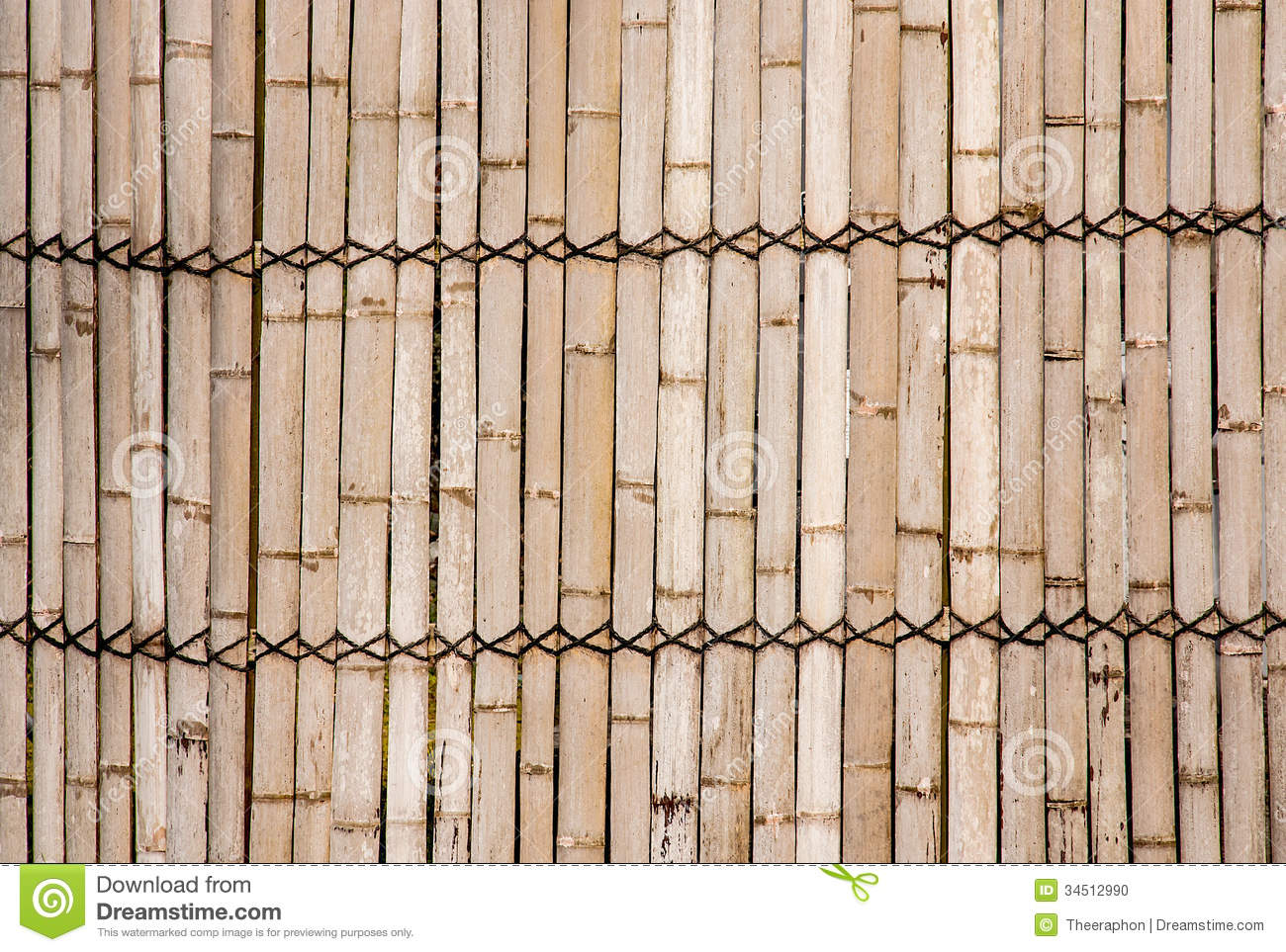 Bamboo Walls. Stock Photo - Image: 34512990