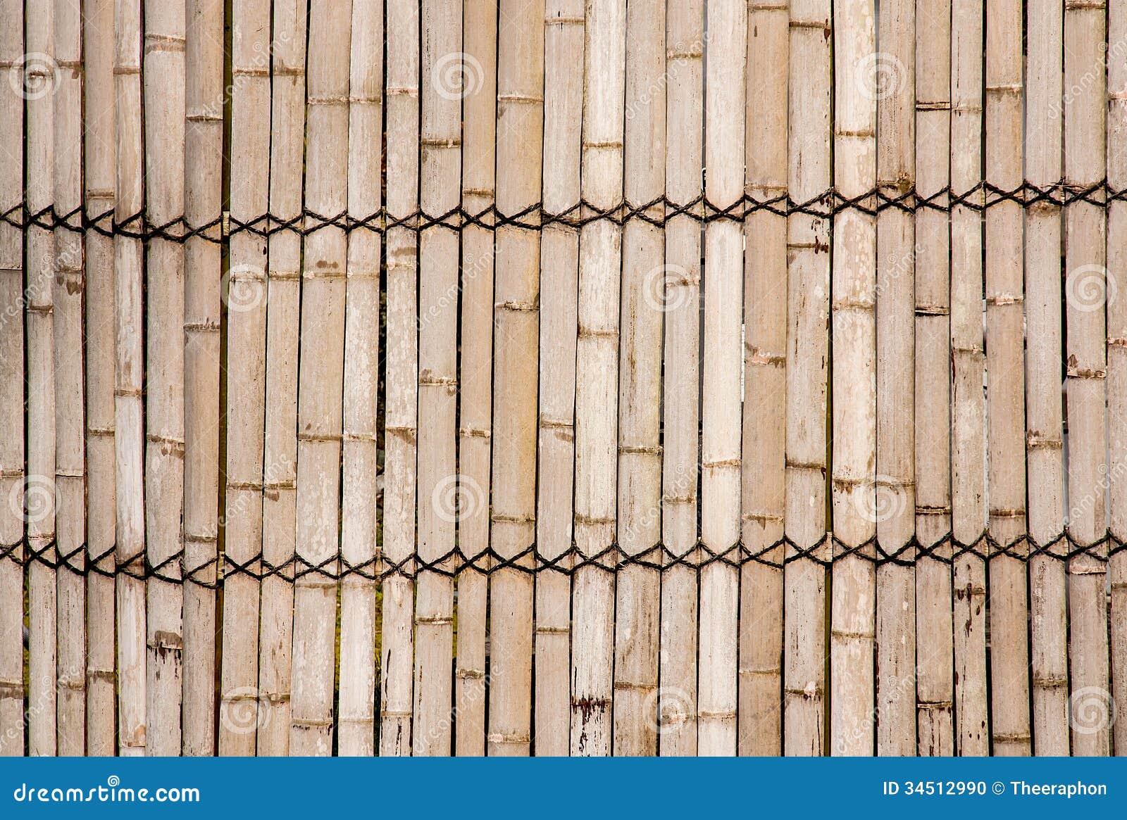 Bamboo Walls Stock Photo Image Of Bunch Pattern