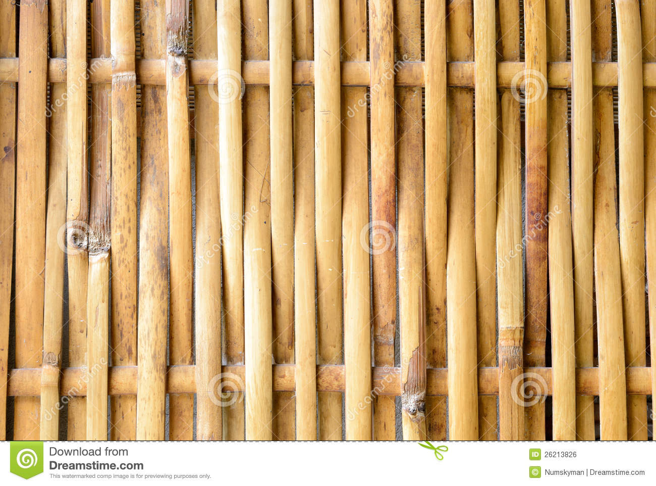 Old bamboo weave with word open stock photo for Bamboo weaving tutorial