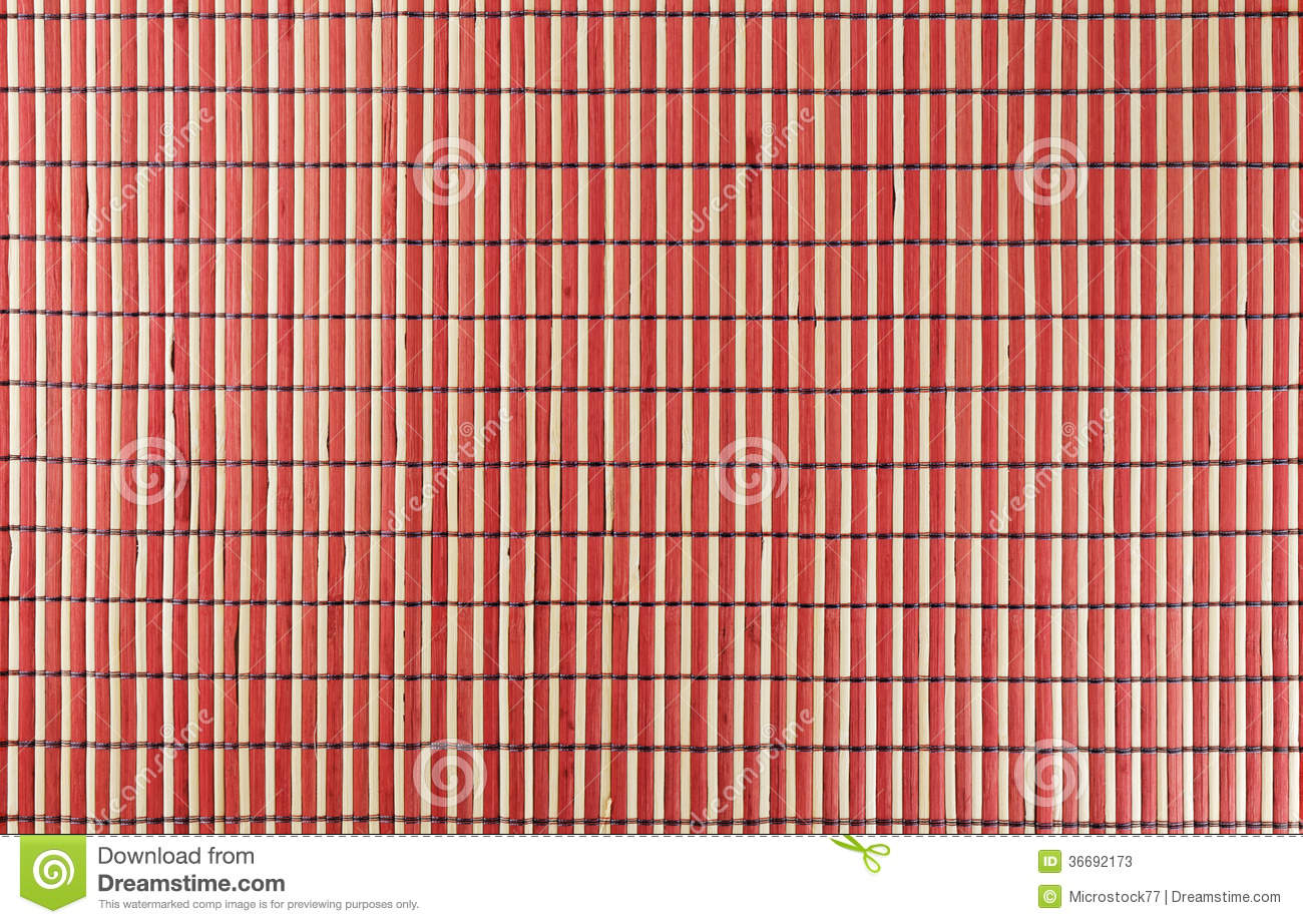 Bamboo Wood Background Red Stock Photos Image 36692173