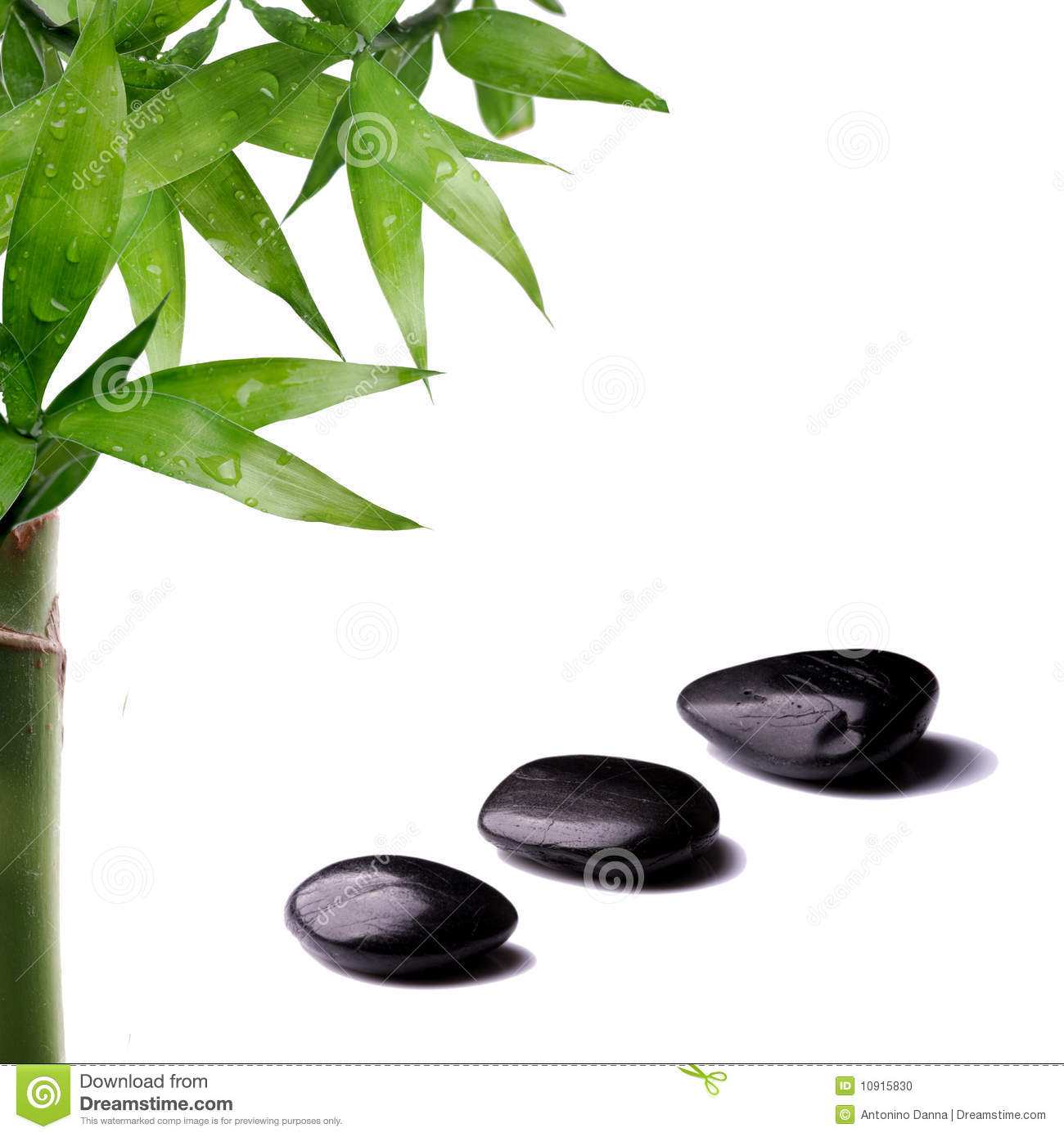 zen stones and bamboo - photo #46