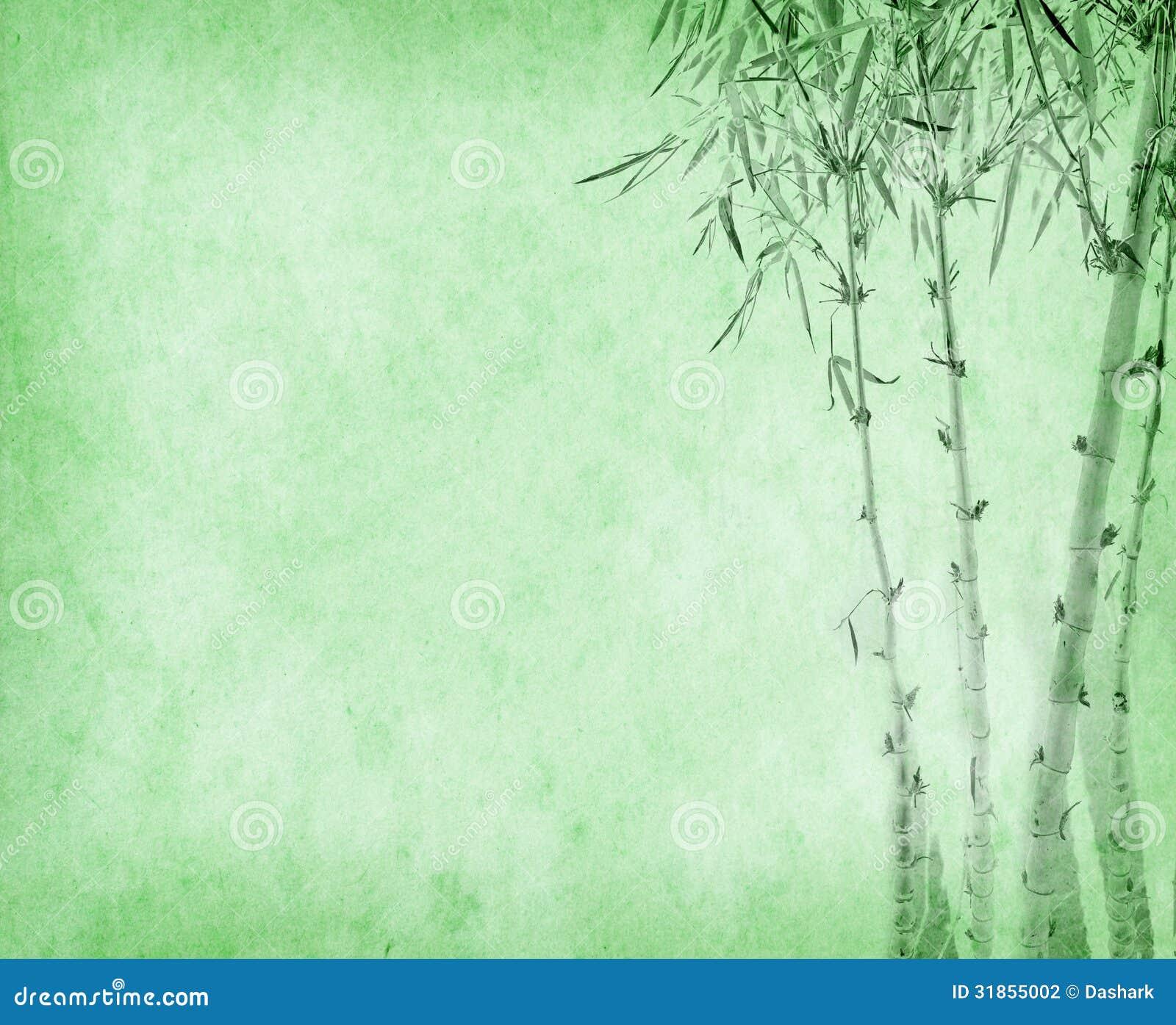 Bambou sur la vieille texture de papier grunge - Tout sur le bambou ...