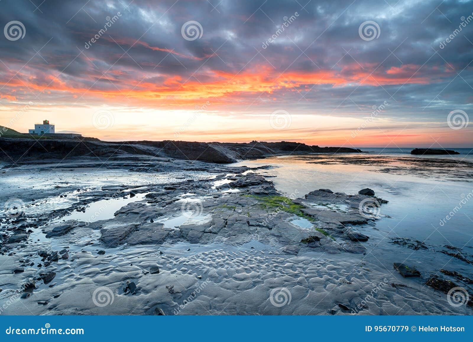 Bamburgh dans le Northumberland