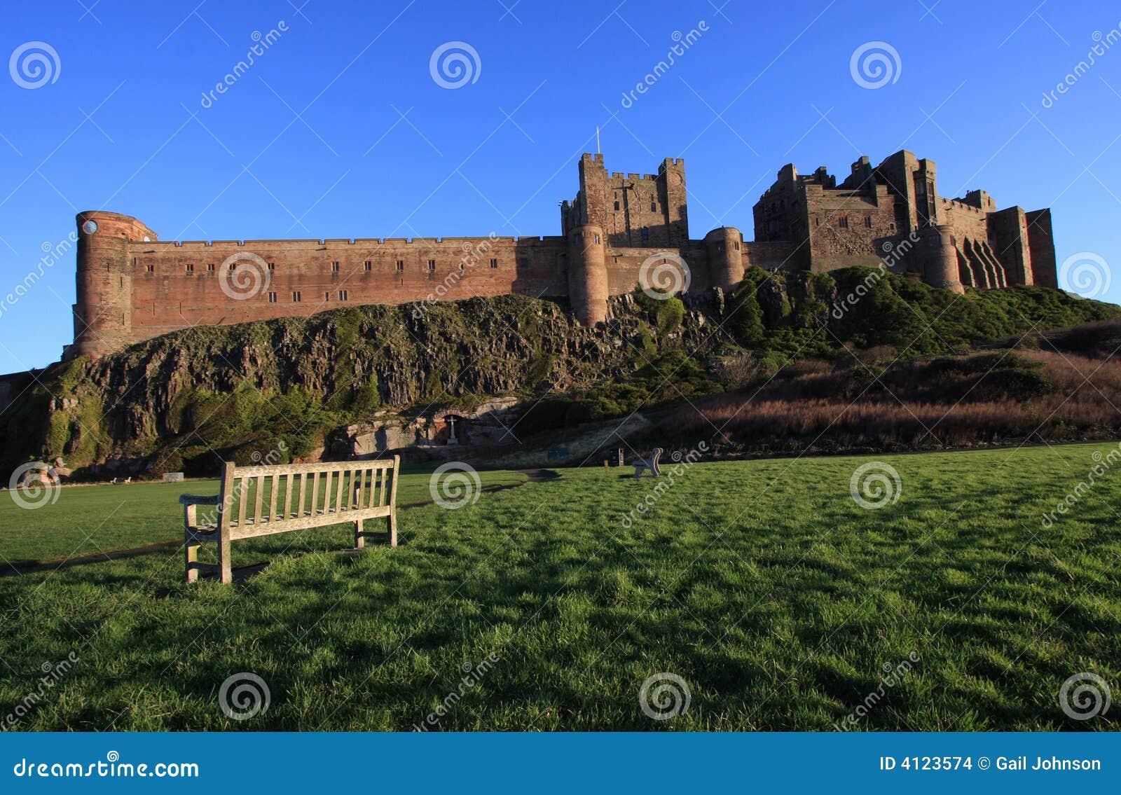 Bamburgh zamku