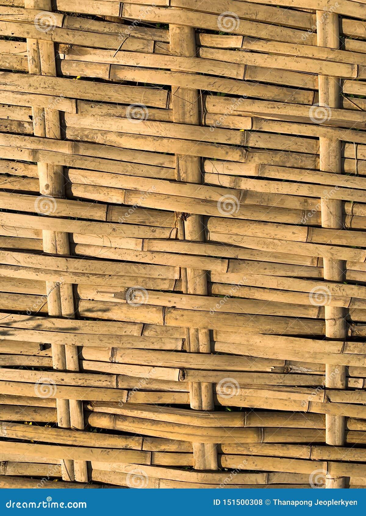Bambus wyplata tło