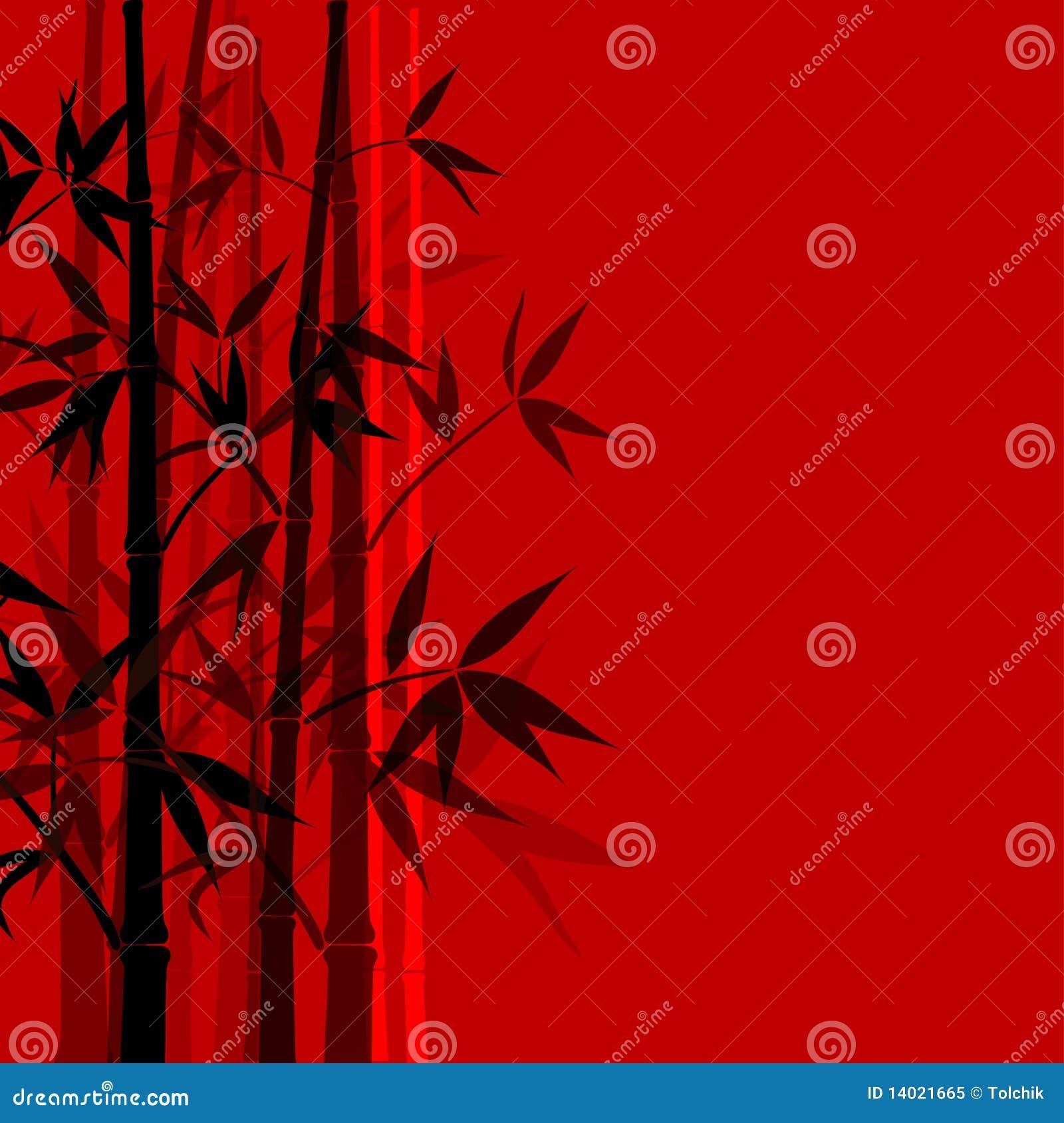 Bambushintergrund, Vektor