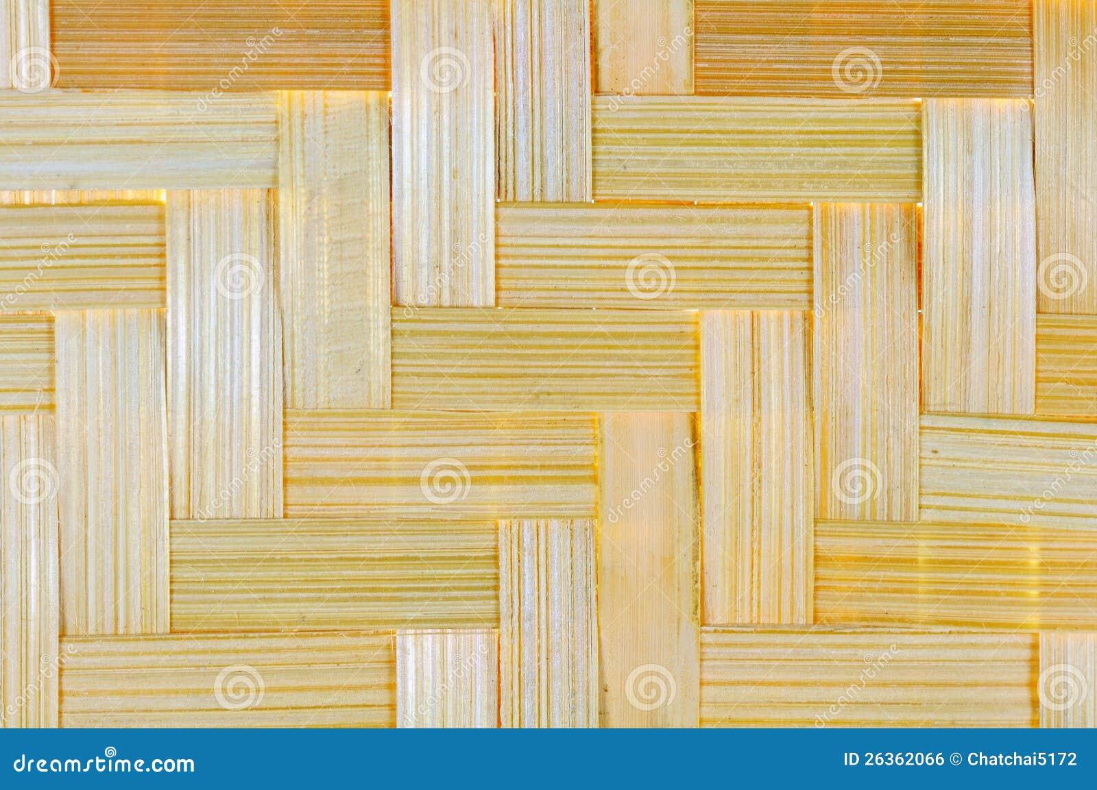 Bambuskorbwarenhintergrund