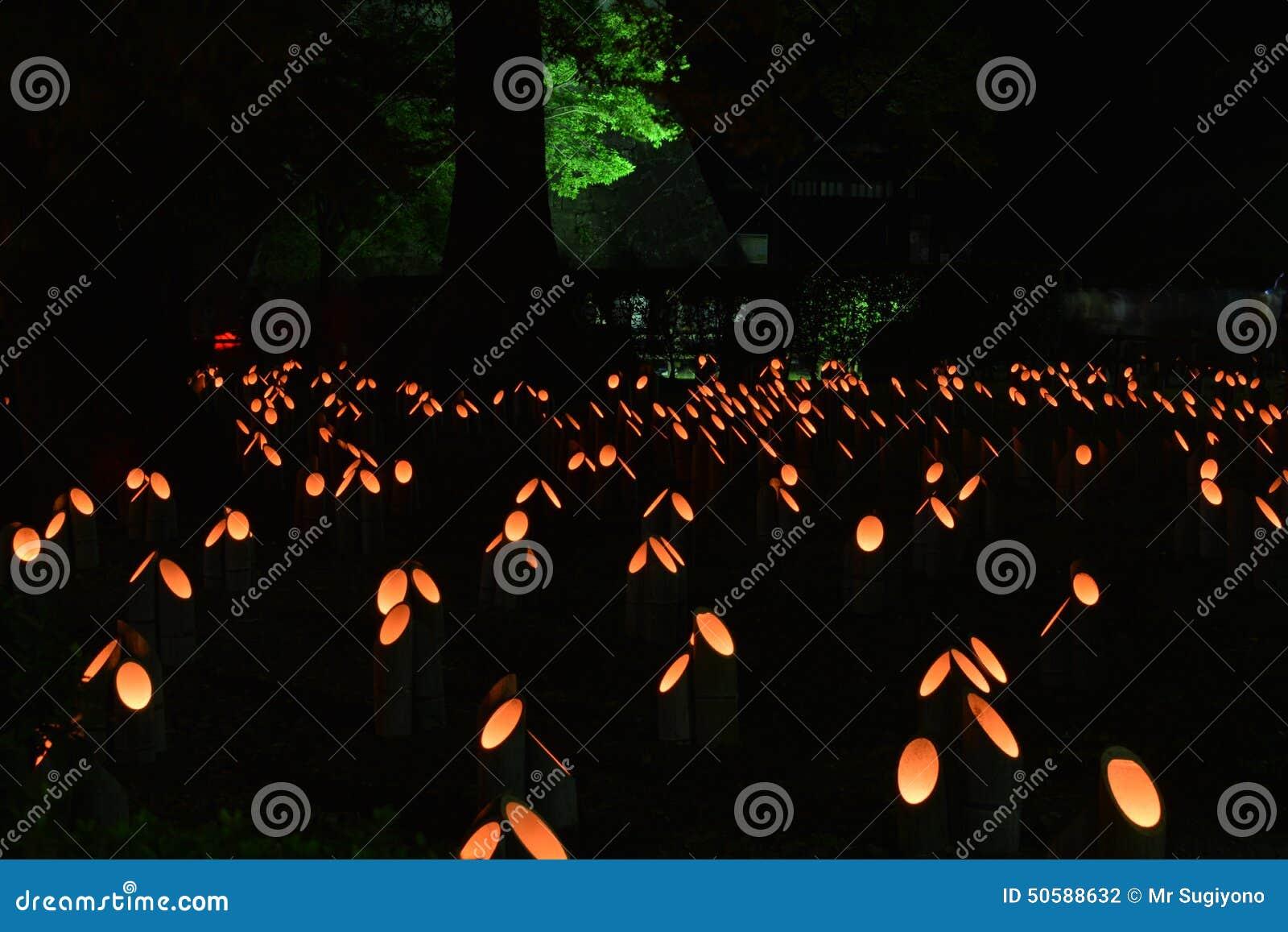Bambuslaternen Stockfoto Bild Von Foto Laternen Japan 50588632