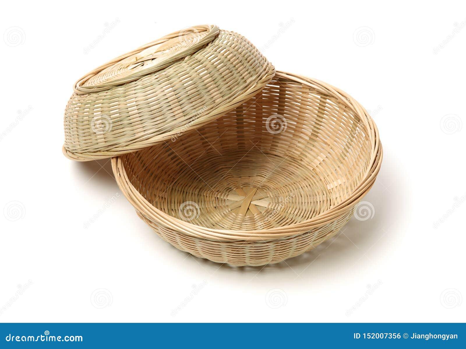 Bambusowy koszykowy r?cznie robiony