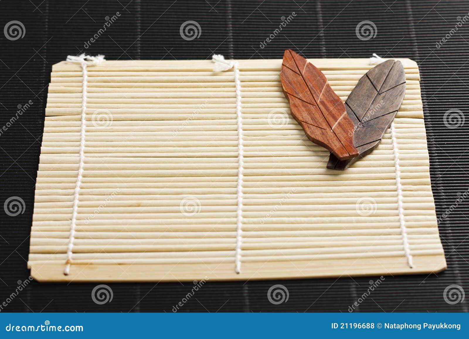 bambusplatte stockfoto. bild von orientalisch, mahlzeit - 21196688