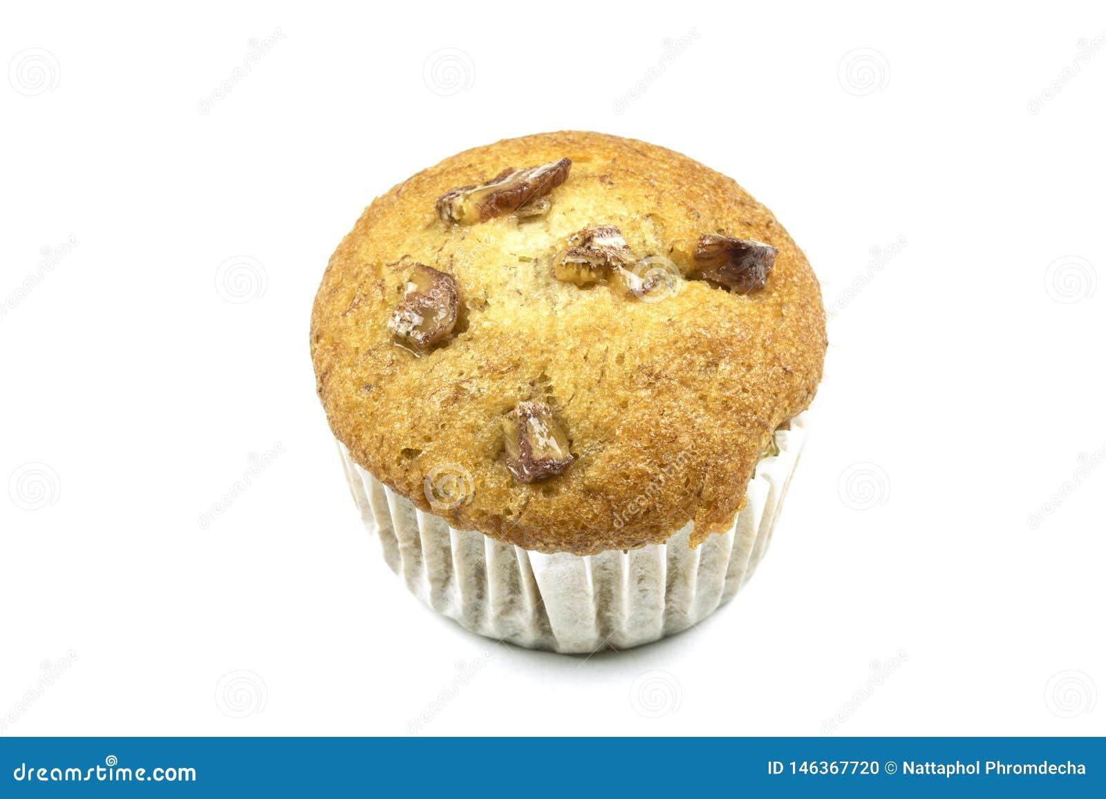 Banaan cupcake of banaanmuffin