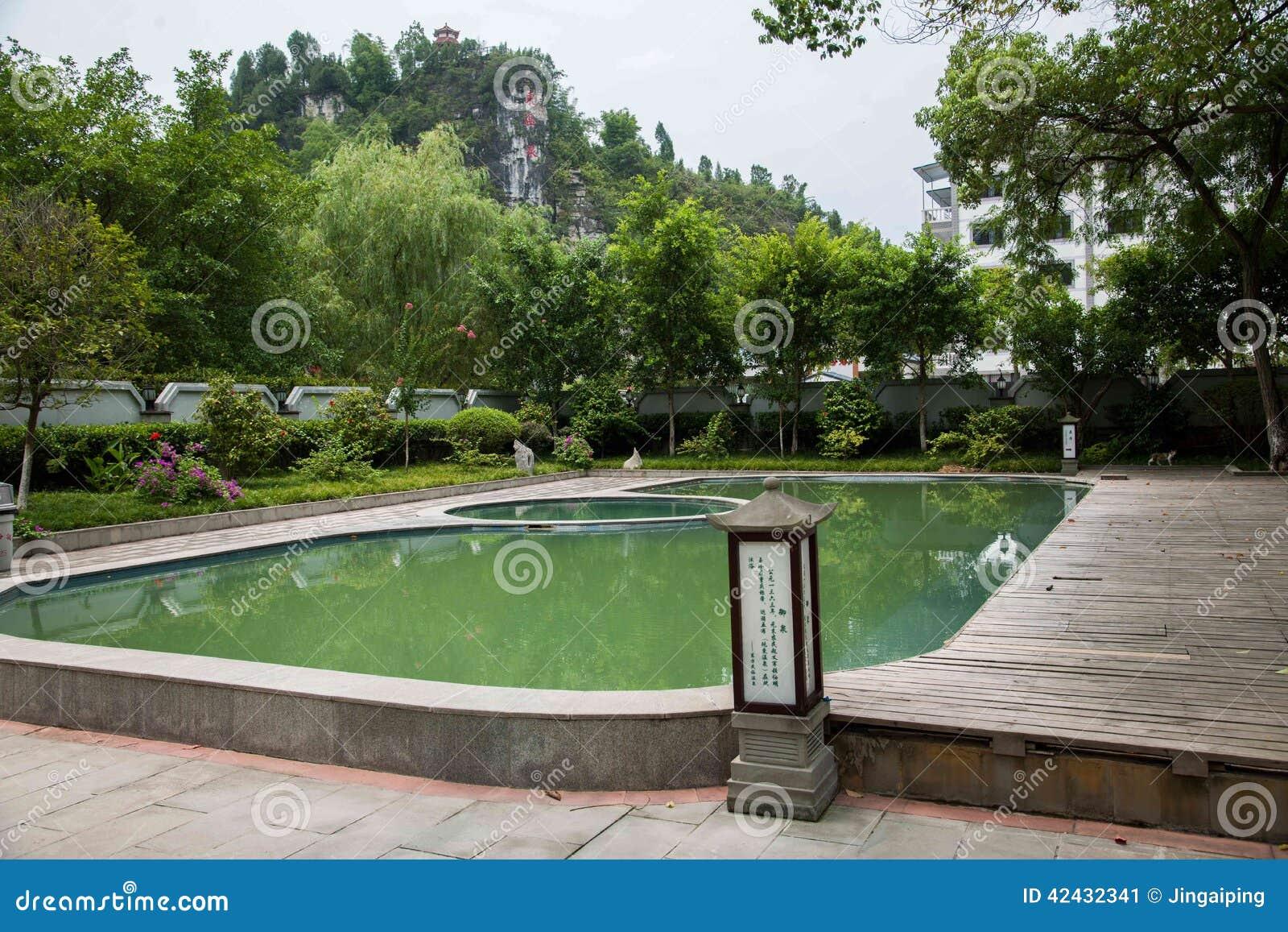 Banan District, orilla del este salta distrito turístico del paño del centro turístico y del balneario cinco de Chongqing, hotel