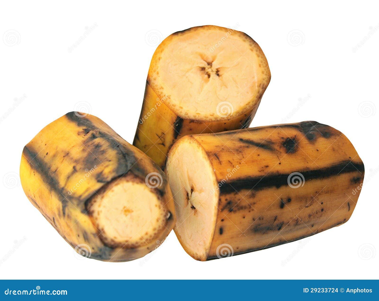 Download Banana Do Plantain Da Estaca Foto de Stock - Imagem de saudável, amarelo: 29233724
