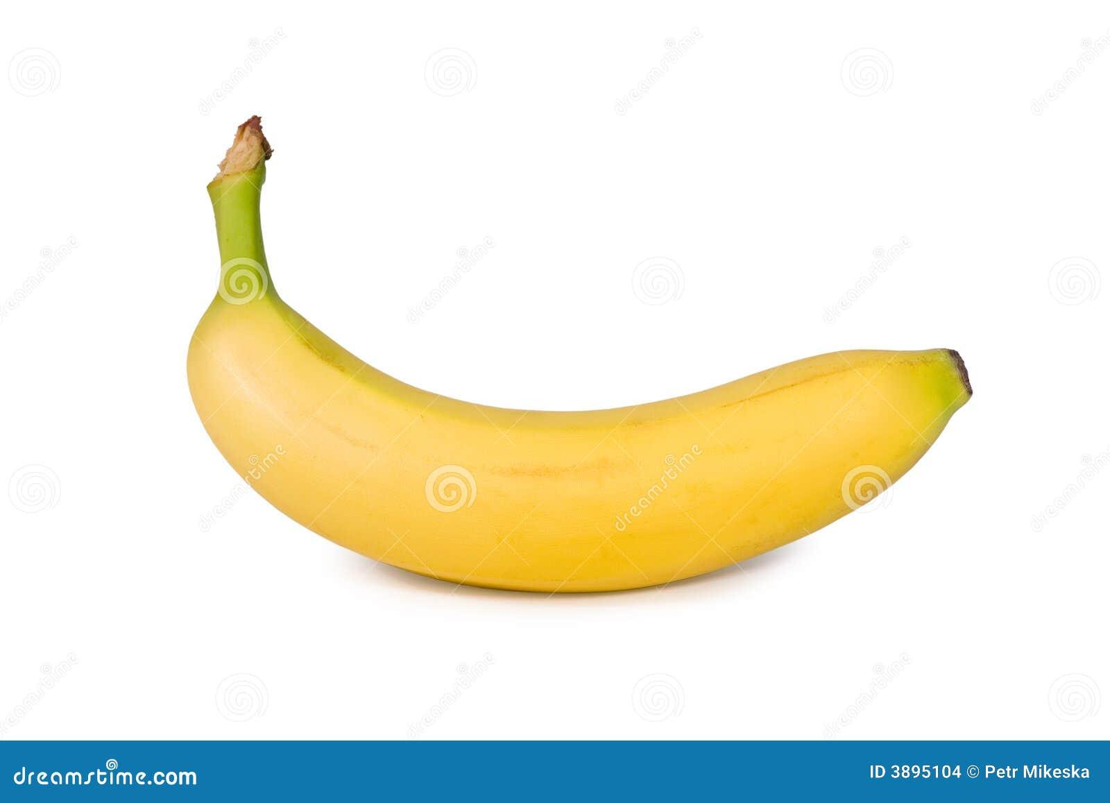 Banana isolata