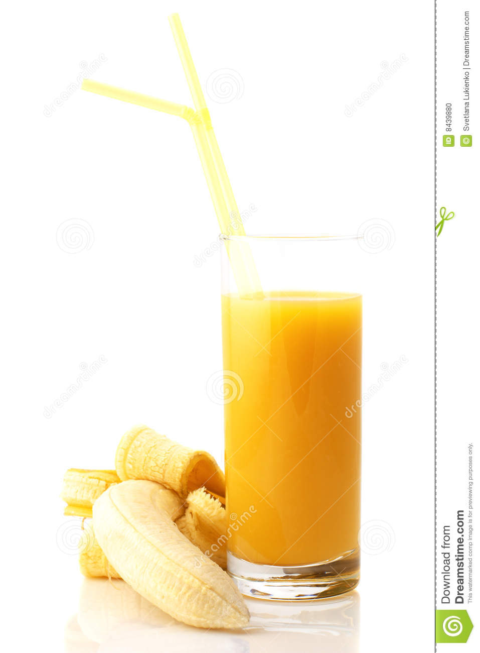 More similar stock images of banana and juice