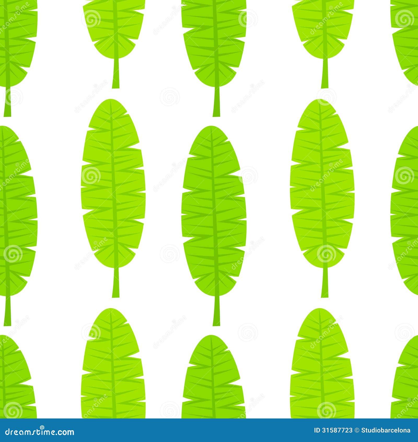 banana tree leaves vector - photo #21