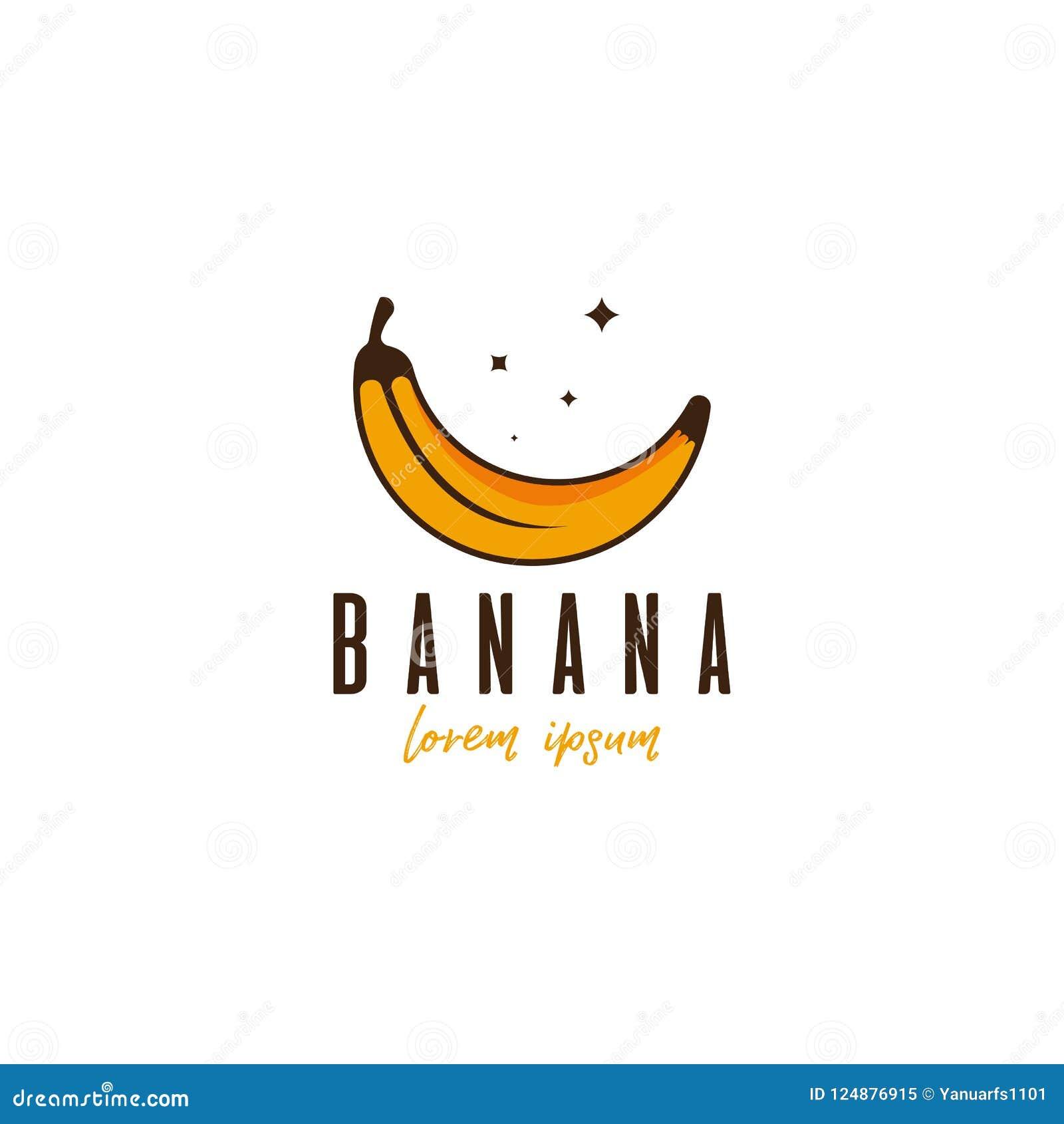 Banana Template | Banana Logo Vector Template Logo Template For Your Business Stock