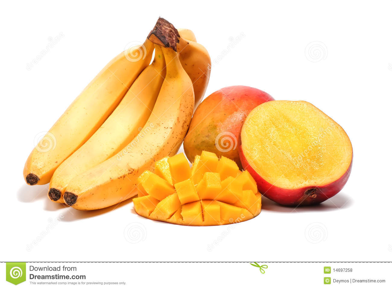 how to cut up a mango video