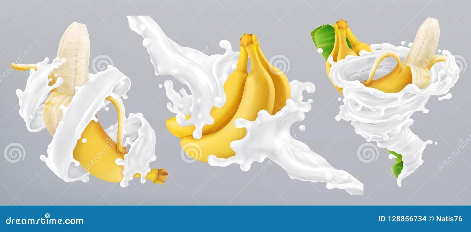 Banana Milk Stock Illustrations 5 781 Banana Milk Stock Illustrations Vectors Clipart Dreamstime