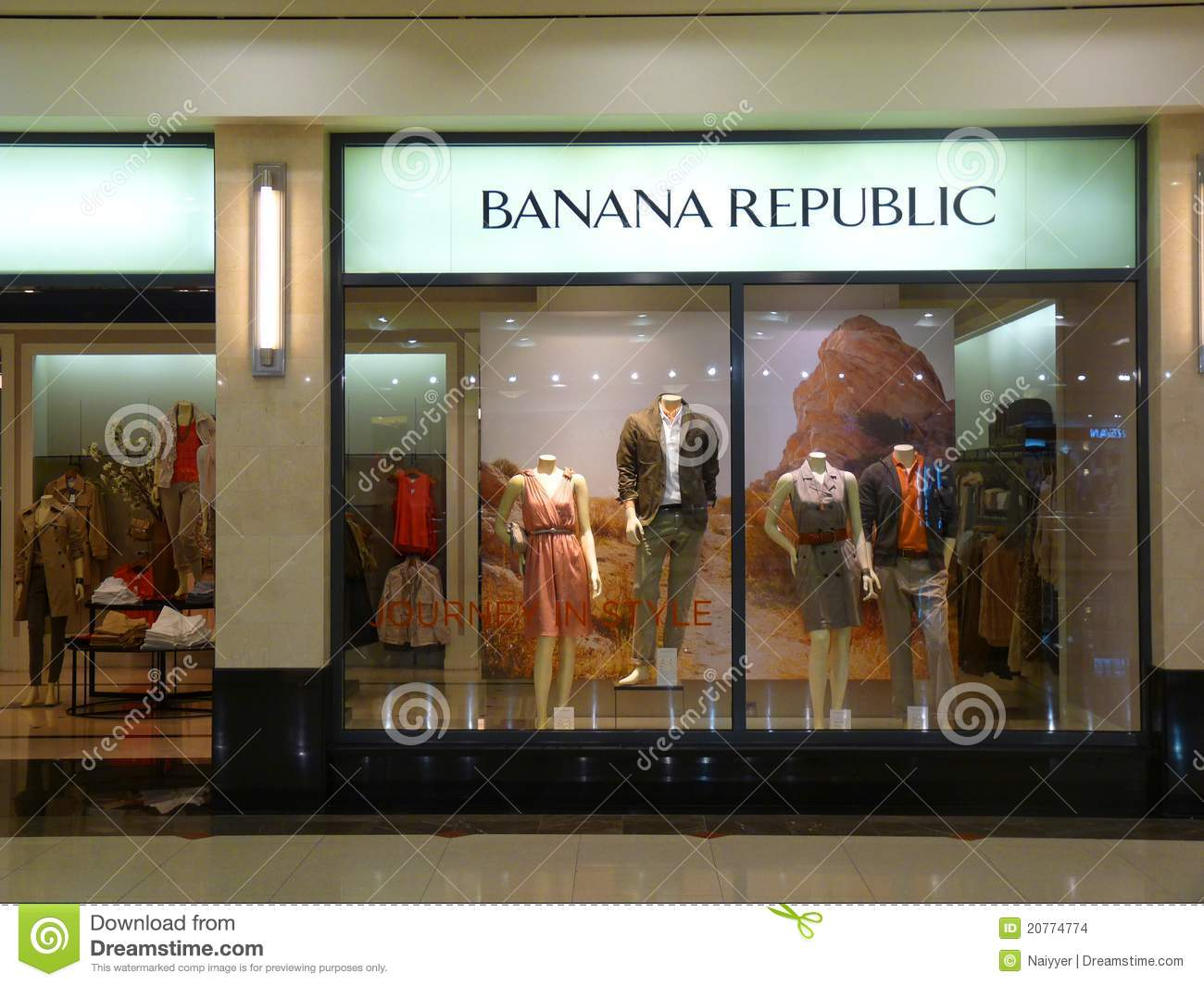 I would like to add here that brand 'Banana Republic' is also a well known American clothing brand. It was found in 1978 by Mel and Patricia Ziegle