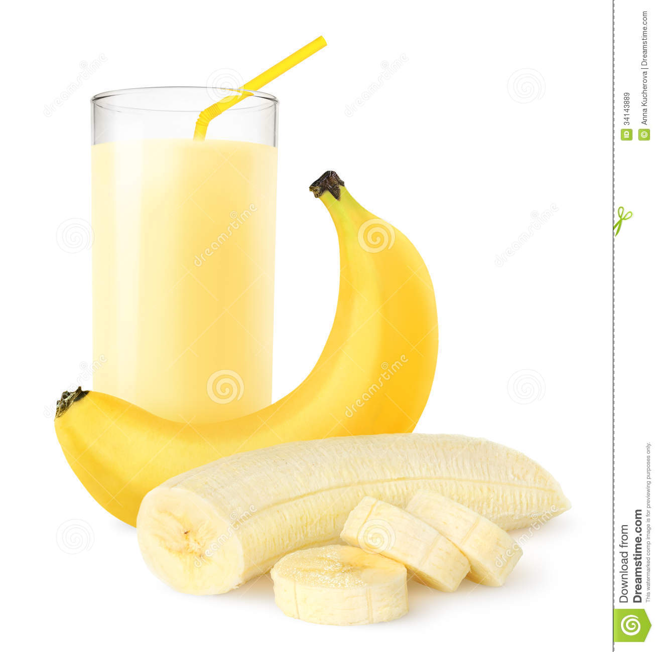 Royalty Free Stock Images Banana Shake Fresh Over White Background Image34143889 on cartoon smoothie