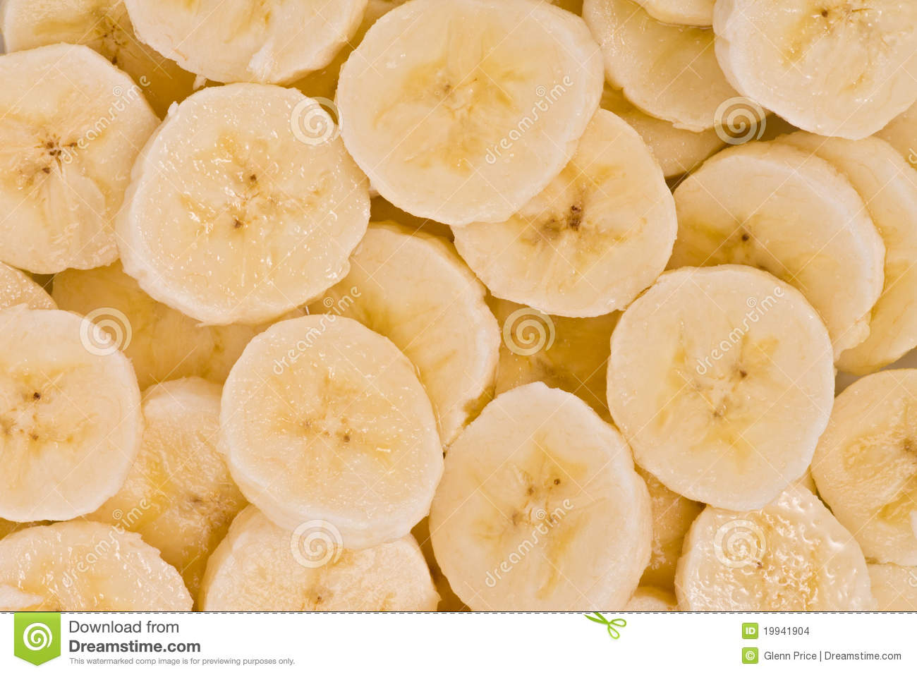Banana Slices (Musa Acuminata) Stock Images - Image: 19941904