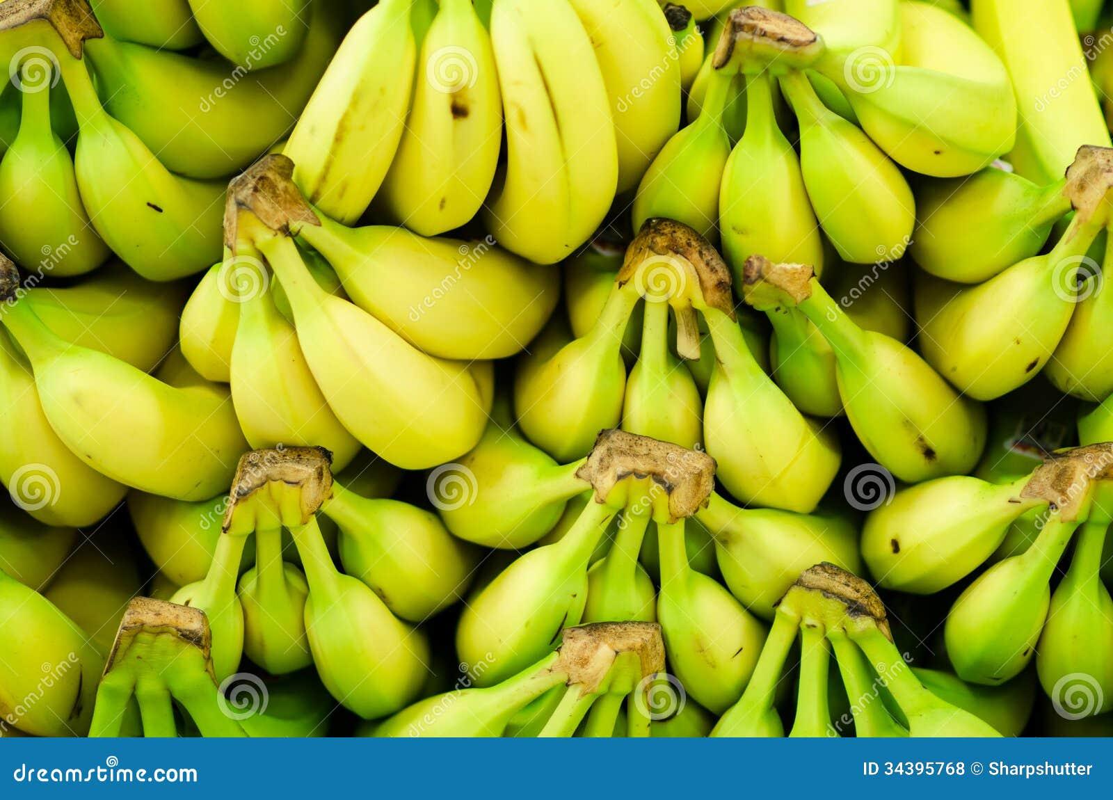 Bananas on display stock photo. Image of fresh, display ...
